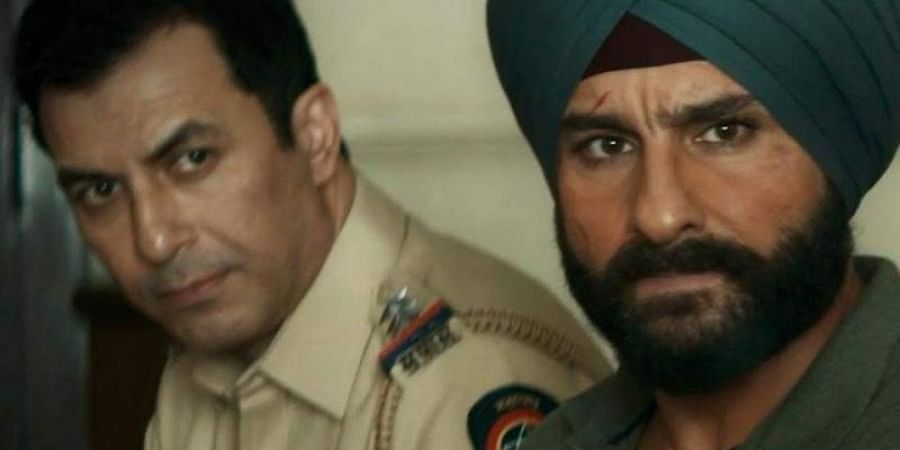 Aamir Bashir and Saif Ali Khan played Majid and Sartaj in Sacred Games, respectively.