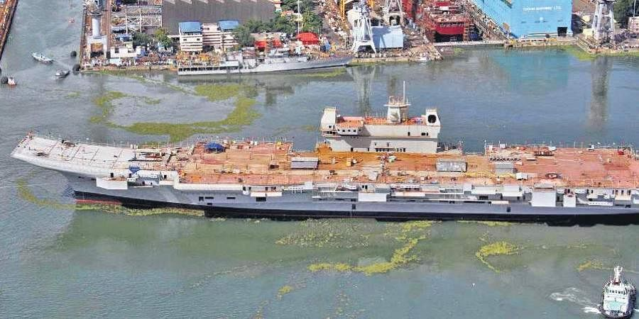 Indigenous aircraft carrier Vikrant
