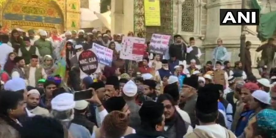 People stage protest in Ajmer against Citizenship Amendment Act