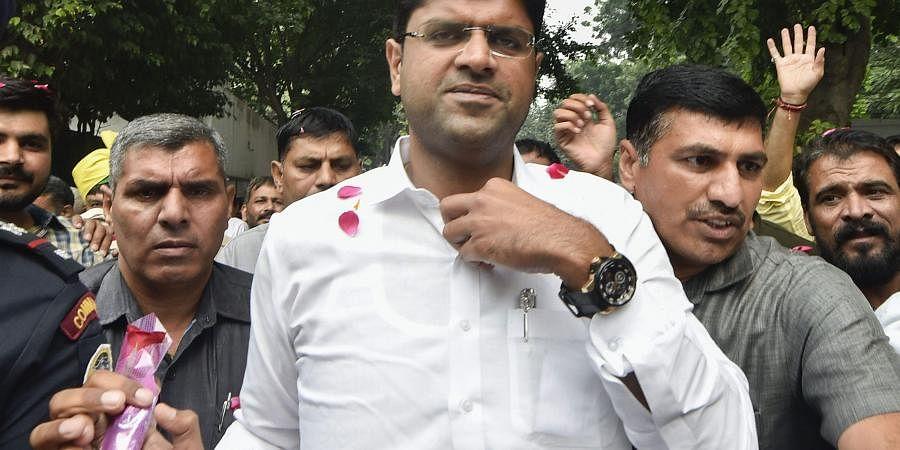 Haryana deputy chief minister Dushyant Chautala. (File| PTI)