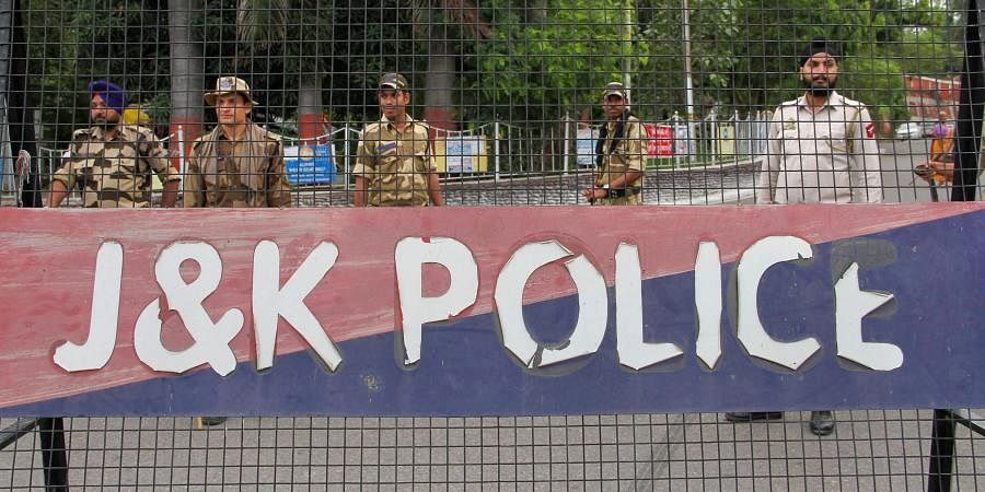 Jammu and Kashmir Police (Photo | PTI)