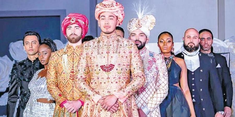 Modern Indian bridegrooms are ready to experiment with their wedding outfits