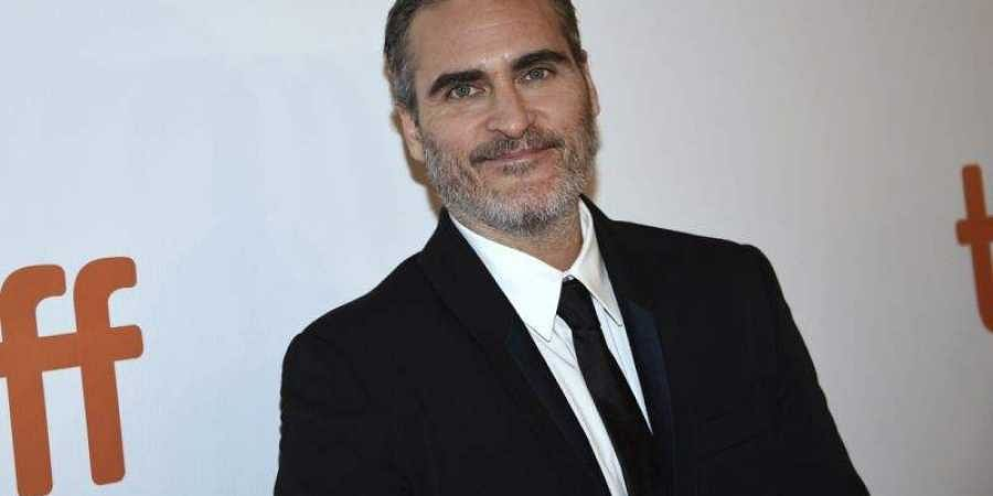 Hollywood actor Joaquin Phoenix