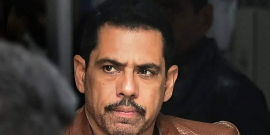 Congress general secretary Priyanka Gandhi's husband Robert Vadra