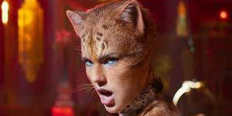 A still from Taylor Swift in the film Cats.