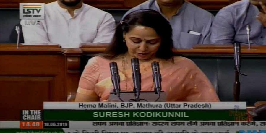 BJP MP from Mathura Hema Malini