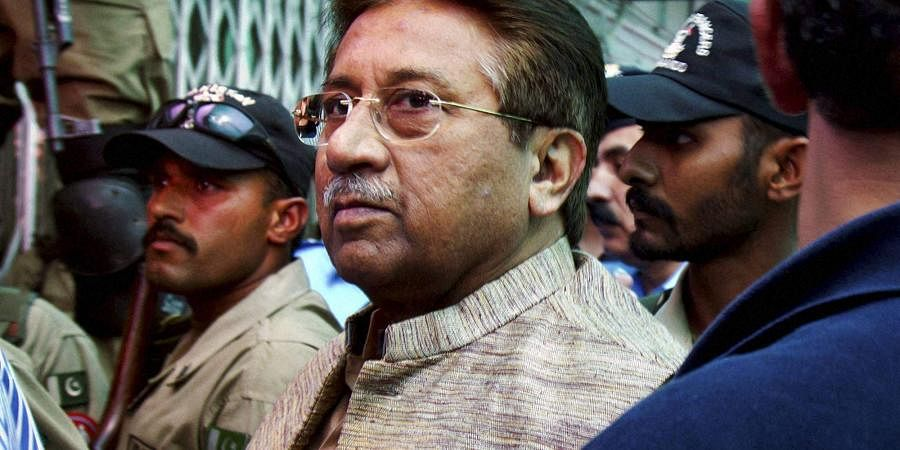 Pakistan's former President and military ruler Pervez Musharraf