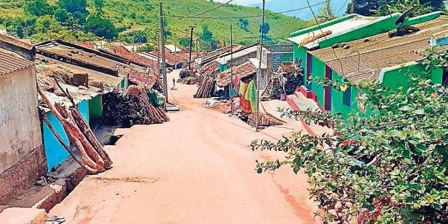 Kotia village on the border of Odisha and Andhra Pradesh