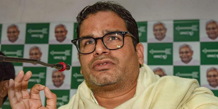 JD(U) leader Prashant Kishor