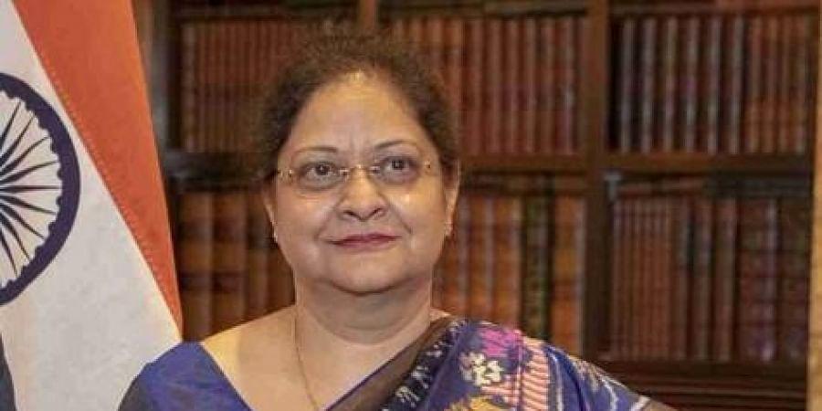 Senior Indian diplomat Renu Pall