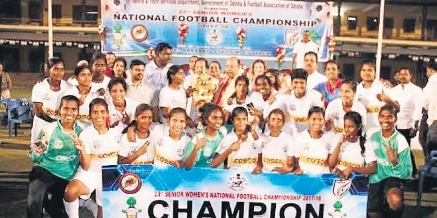 Tamil Nadu women's Football team