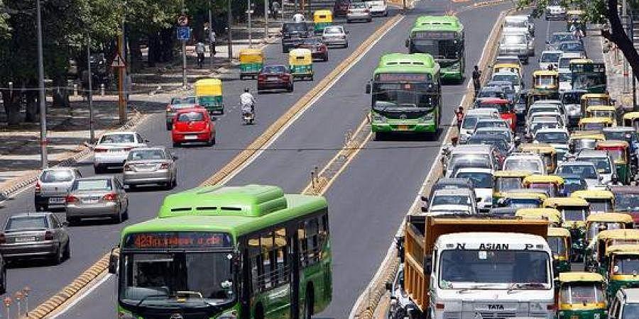 Delhi Transport Corporation, Delhi buses