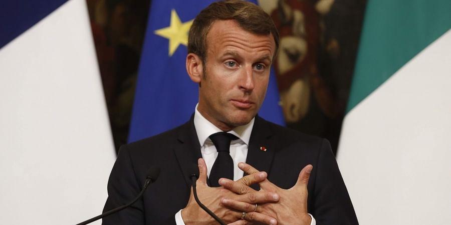 France President Emmanuel Macron (File | AP)