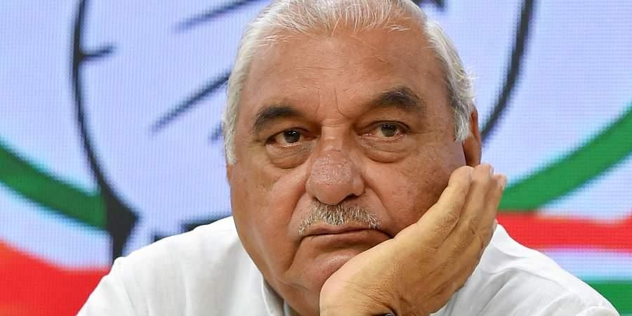 Former Haryana CM and senior Congress leader Bhupinder Singh Hooda