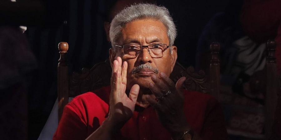 Sri Lankan President Gotabaya Rajapaksa
