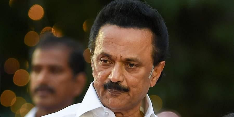 DMK chief MKStalin