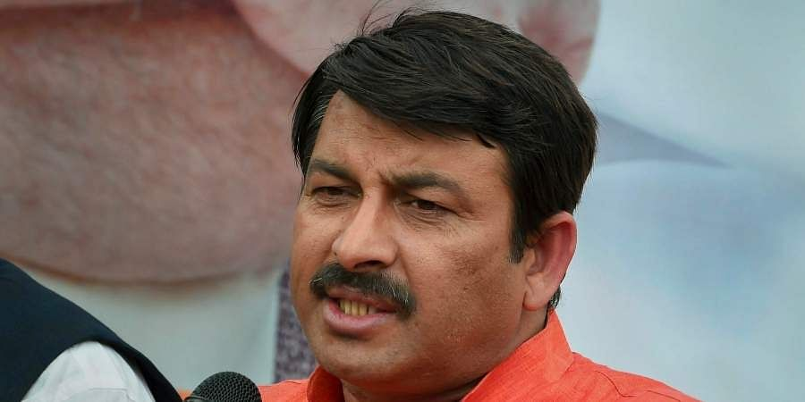 Delhi BJP chief Manoj Tiwari