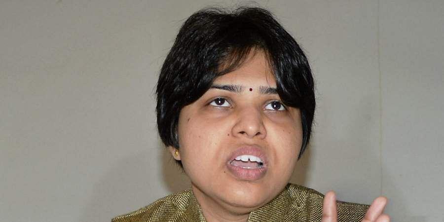 Women rights activist Trupti Desai