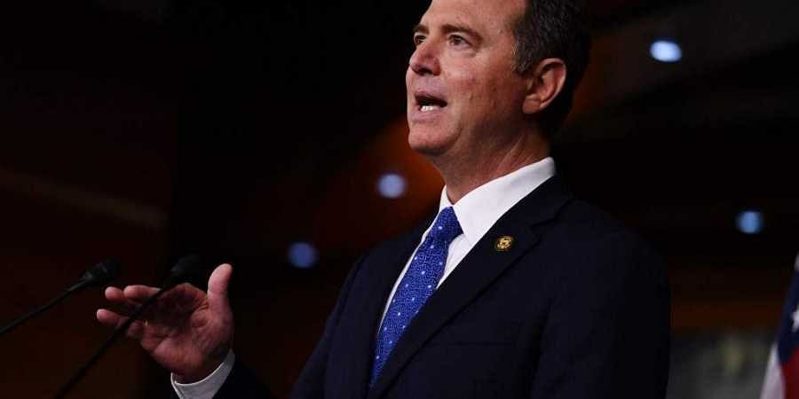 House Intelligence Committee chair, Adam Schiff, speaks during a press conference on December 3, 2019, after the release of the final report of the Trump-Ukraine Impeachment Inquiry.