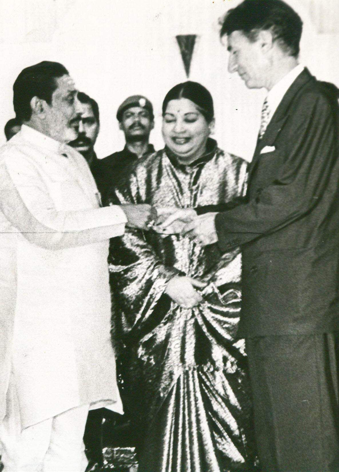 Jayalalithaa debuted in five different languages in a span of just five years. Her debut films became huge hits, making her one the first female superstar of Tamil cinema along with Saroja Devi.