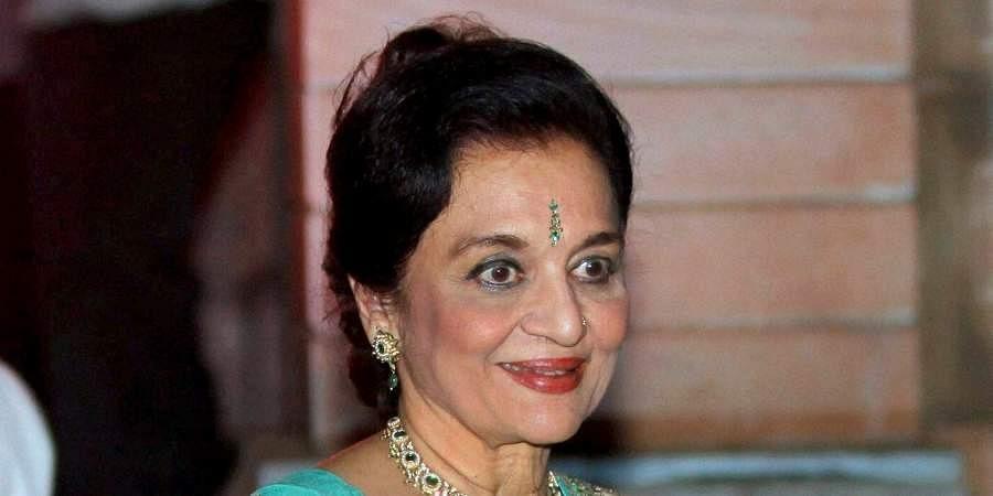 Legendary actress Asha Parekh
