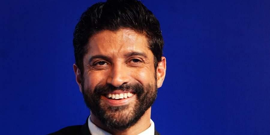 Bollywood actor Farhan Akhtar
