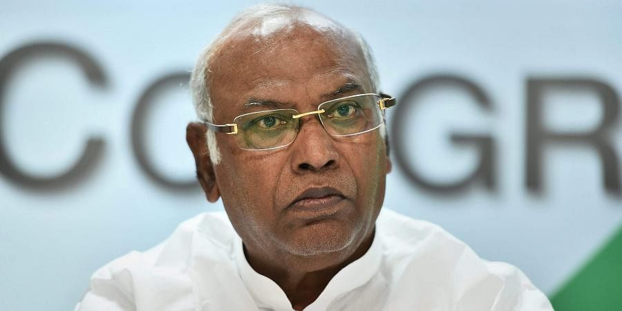 Senior Congress leader Mallikarjun Kharge