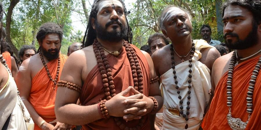 Self-styled godmanNithyananda. | (File | EPS)