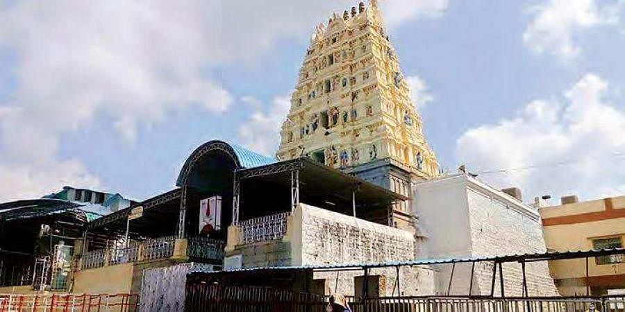 Lord Sri Lakshmi Narasimha Swamy temple at Yadagirigutta