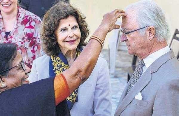 Swedish royals get a tasteof Uttarakhand's hospitality