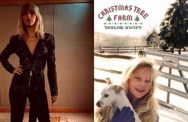 "Taylor Swift releases new holiday song ""Christmas Tree Farm"""