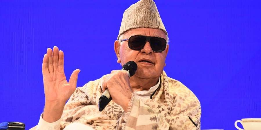 Former Jammu and KashmirCMFarooq Abdullah