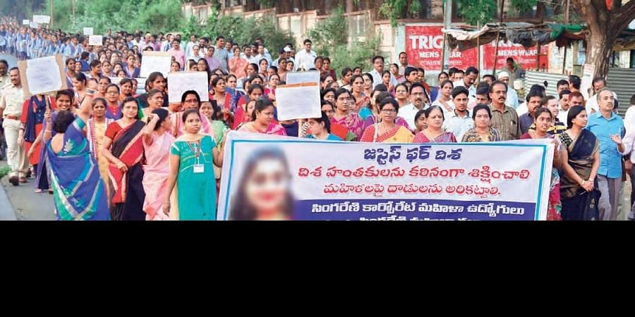 The protests that erupted after Disha's rape and murder at Shamshabad were unprecedented.