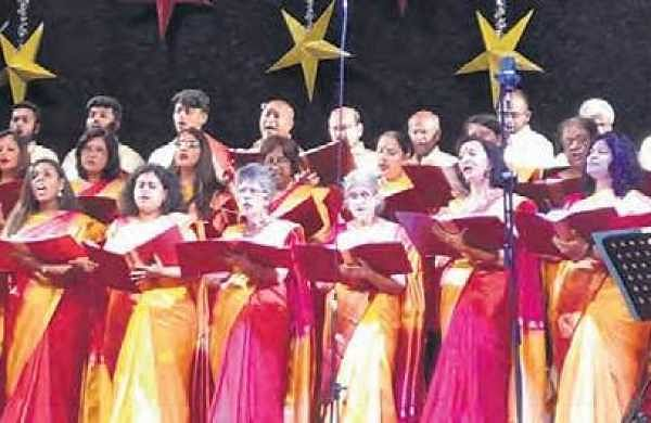 Christmas comes early for Festival Choristers