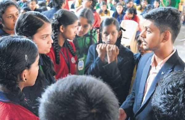 On a mission to make youngsters aware of cyber crimes