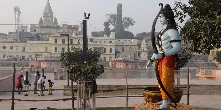 Ayodhya Ram Temple site.