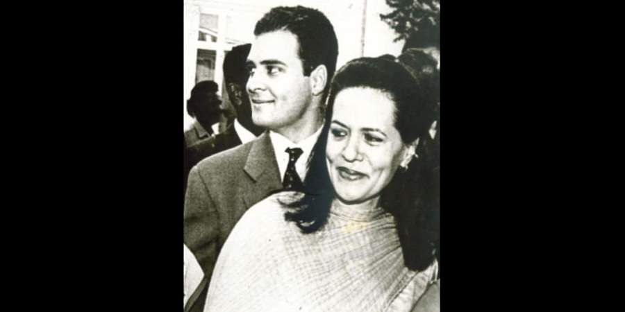 Congress interim chief Sonia Gandhi and her son Rahul Gandhi at the raising day function of the Special Protection group.