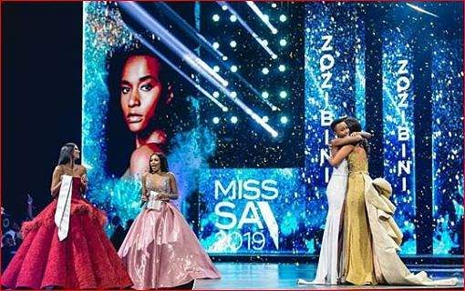 Tunzi had participated in the Miss South Africa 2017 pageant. She couldn't make it to the top 12. That didn't deter Tunzi's spirit as she made a comeback in the Miss South Africa 2019 competition and emerged as the winner.