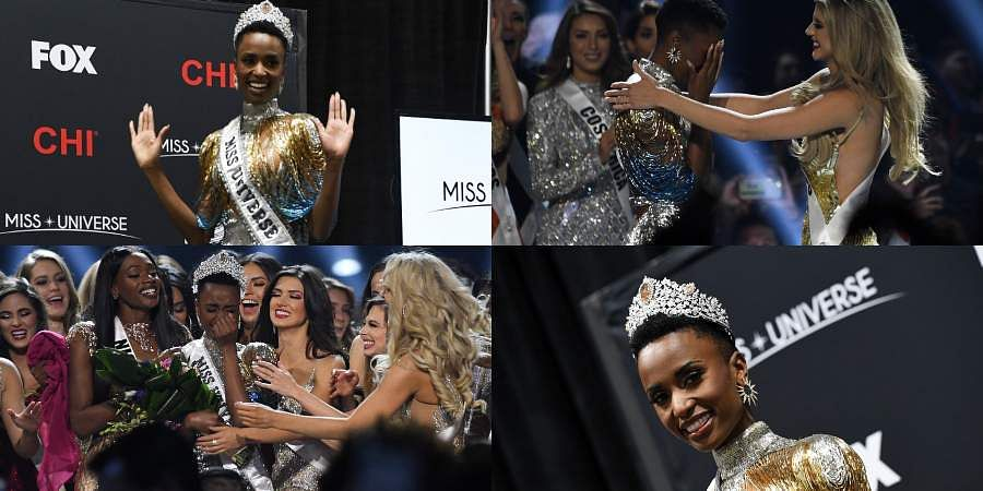 South Africa's Zozibini Tunzi was crowned Miss Universe 2019.