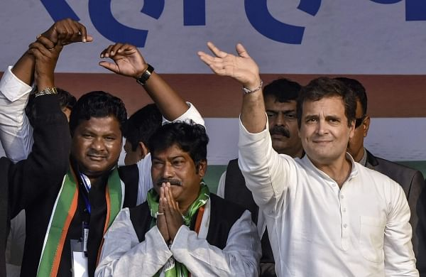 "Jharkhand's ""jal, jungle, jameen"" to be returned to people if Opposition comes to power: Rahul"