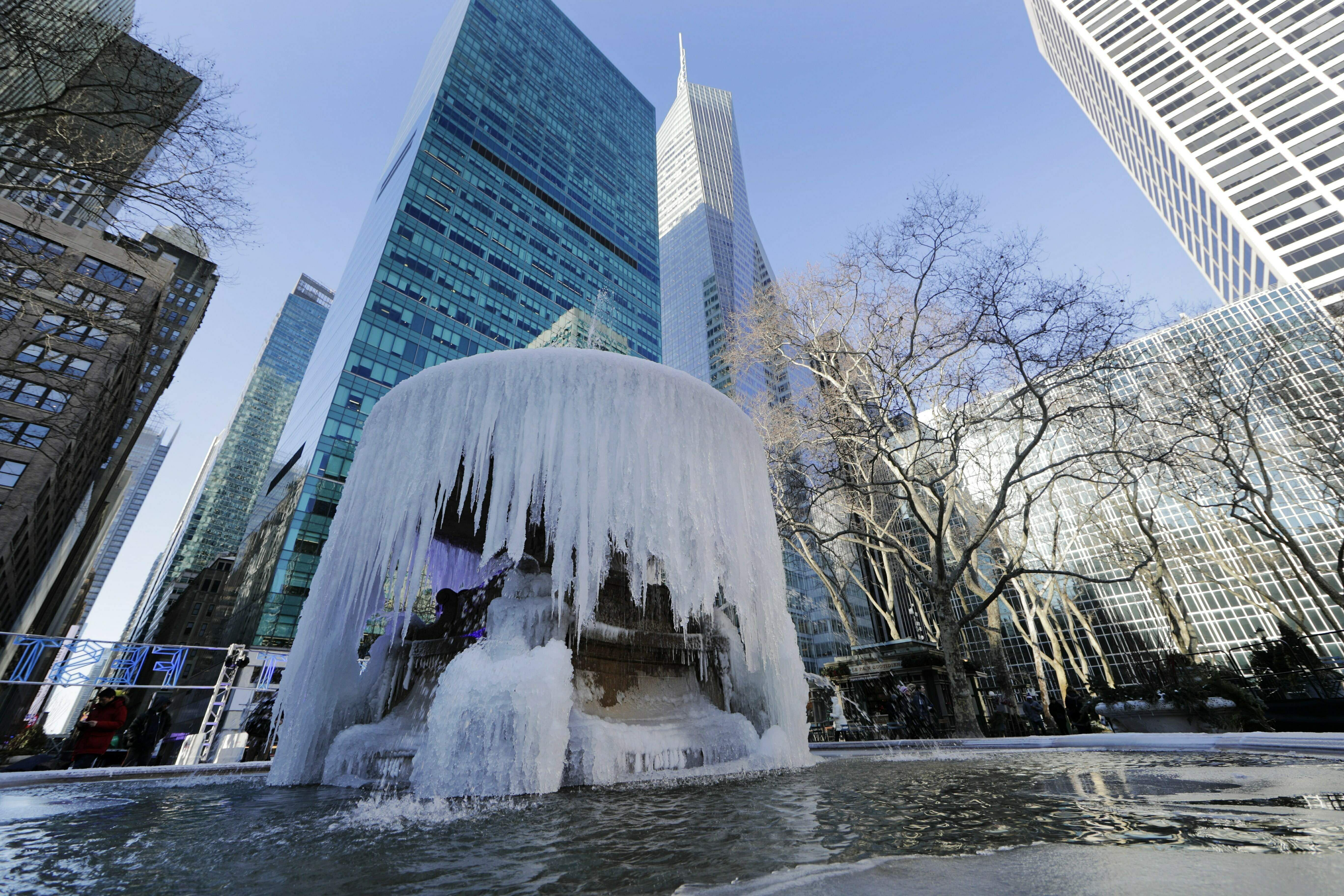 What is a polar vortex? And is it linked to climate change?