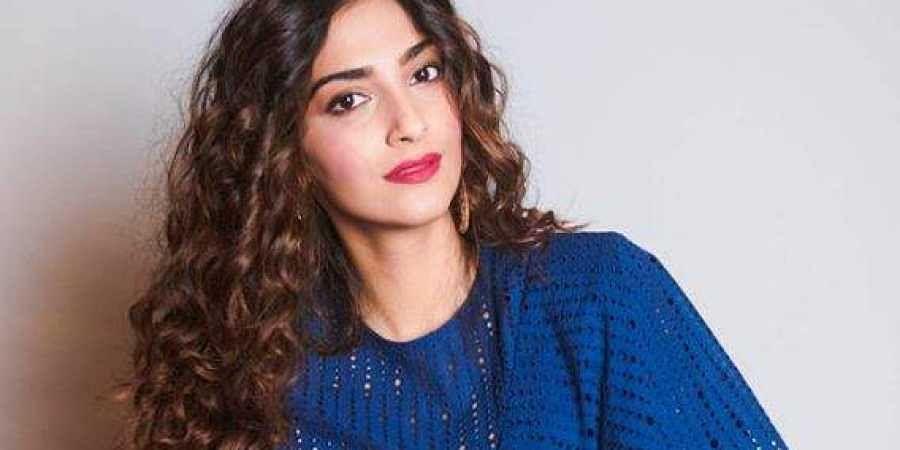 Bollywood actress Sonam Kapoor