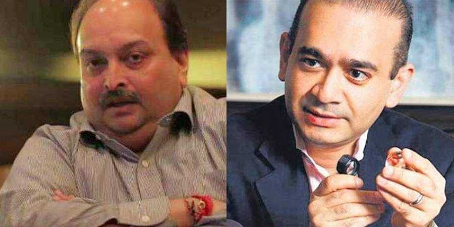 Mehul Choksi and Nirav Modi