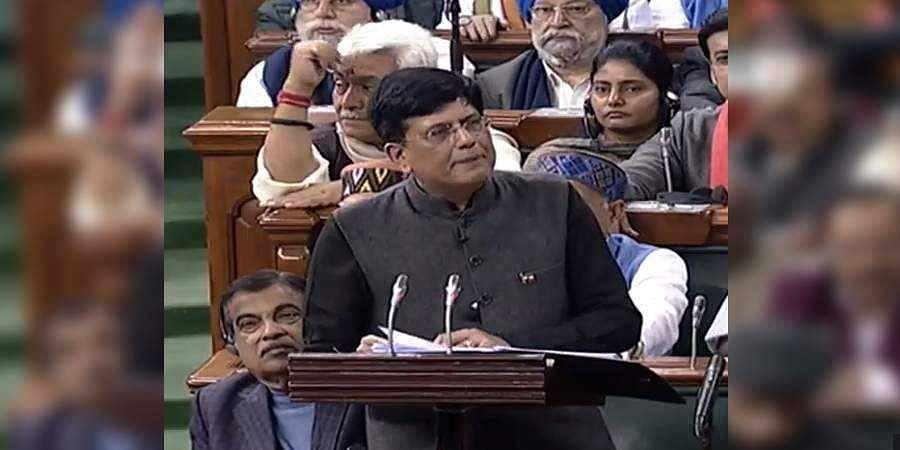 Budget, Piyush Goyal