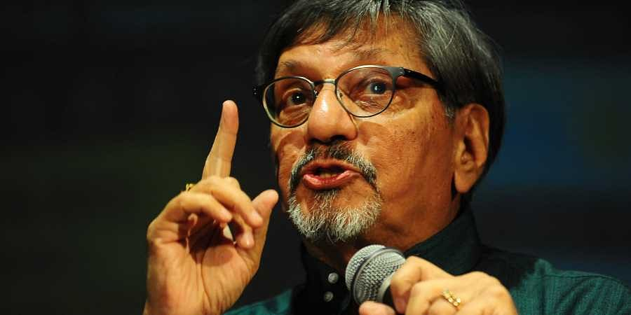 Actor-director Amol Palekar