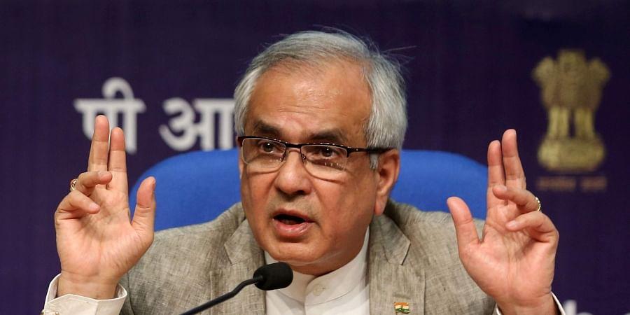 NITI Aayog Vice-president Rajiv Kumar