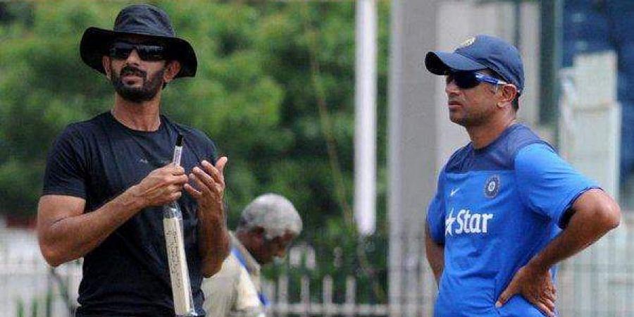 Vikram Rathour and Rahul Dravid
