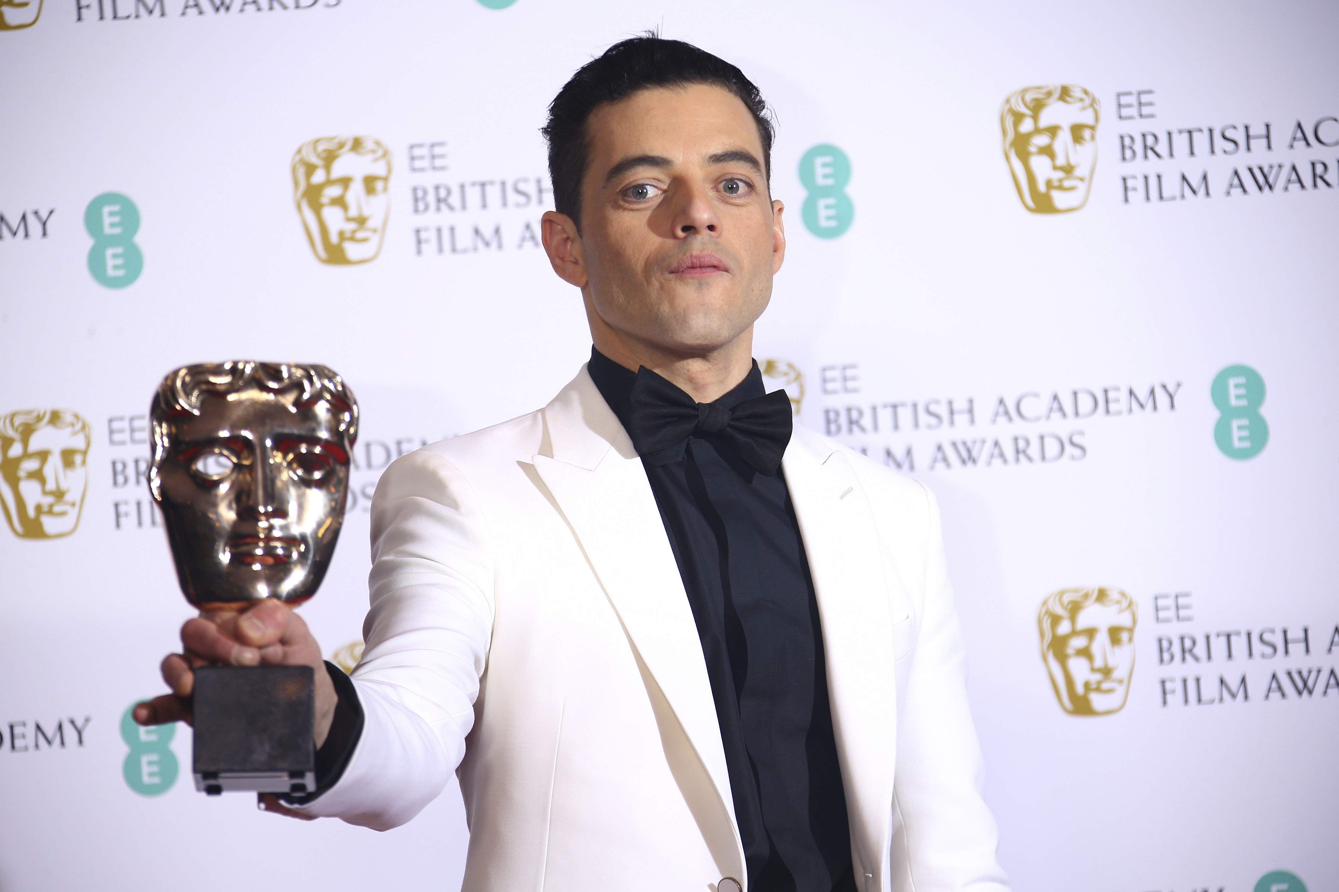 Rami Malek, BAFTA actor, Bohemian Rhapsody