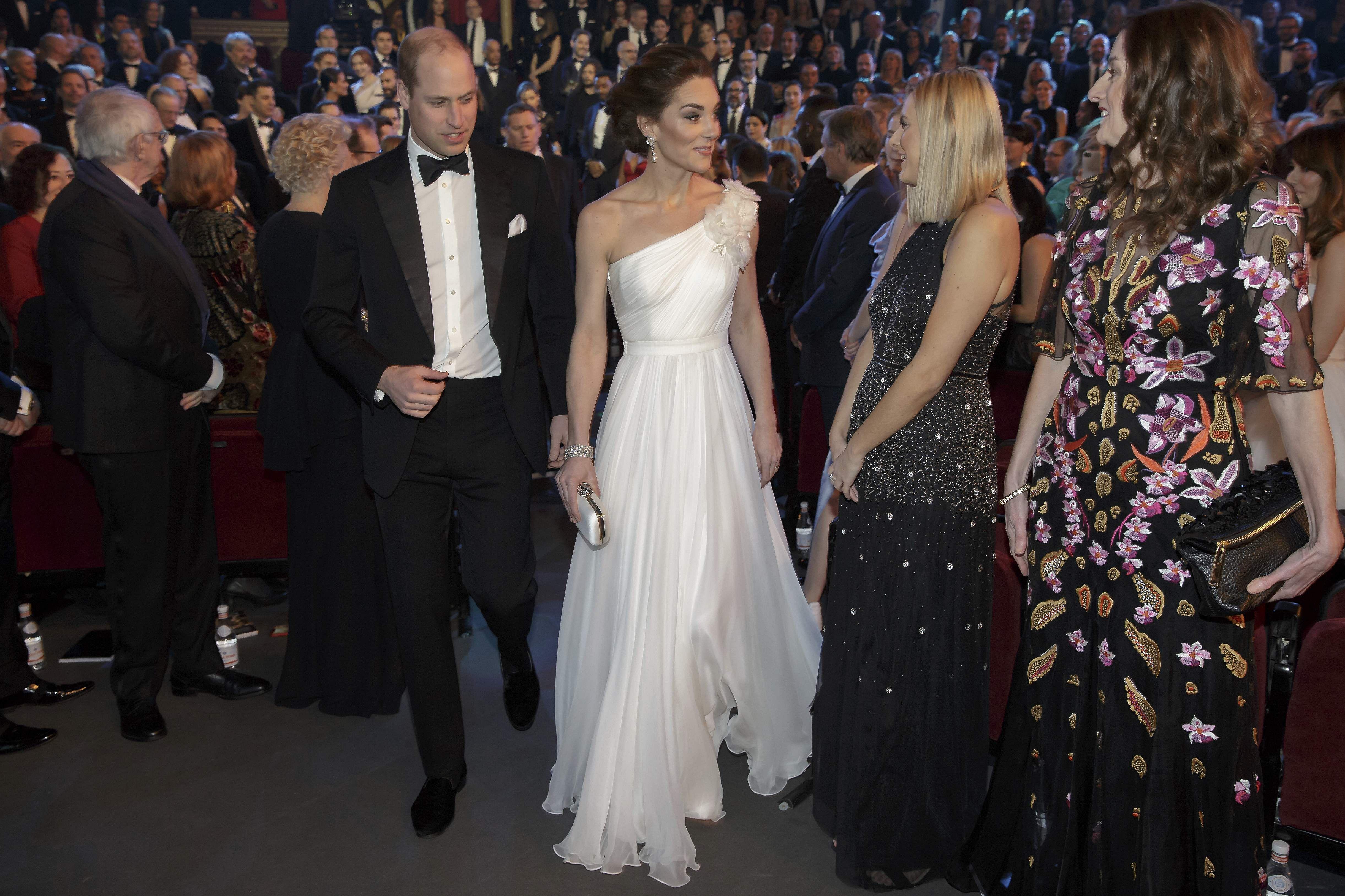 Prince William, Princess Kate BAFTA royal family