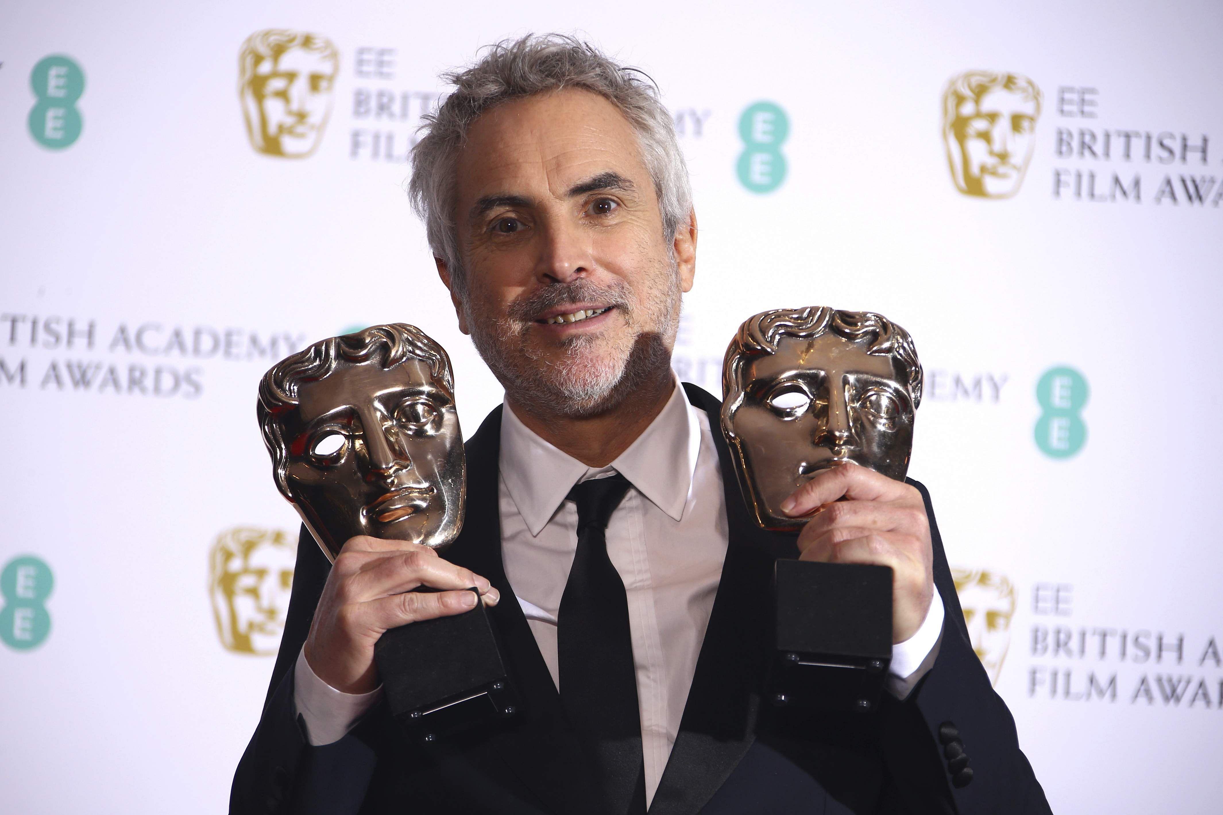 Alfonso Cuaron, BAFTA director, Roma
